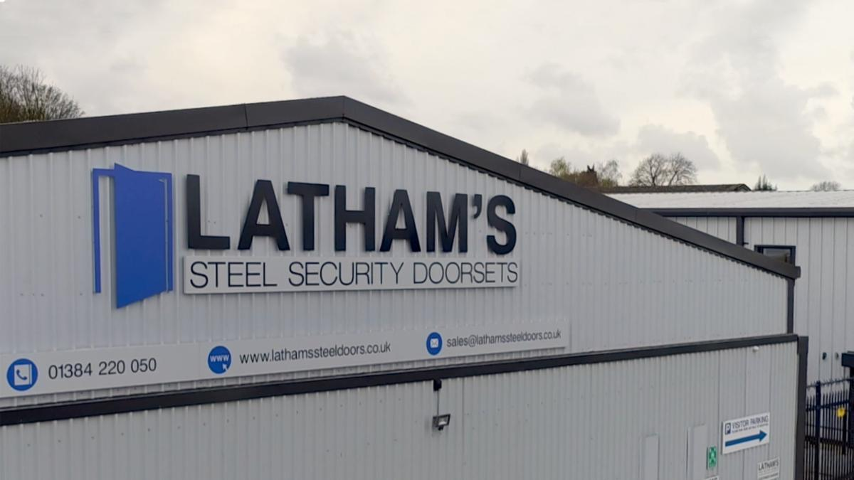 Latham's Steel Security Doors Company Details