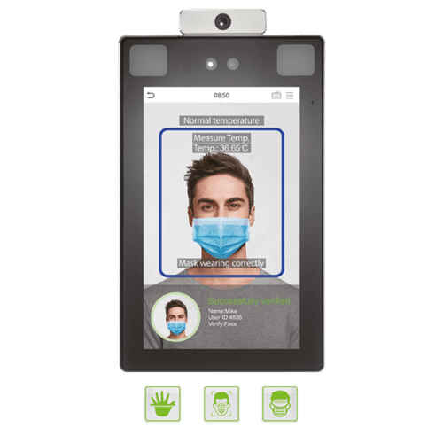 ZKTeco's Touchless Biometrics with Body Temperature Detection