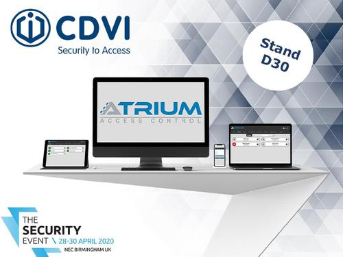CDVI Announces New Features to ATRIUM Access Control